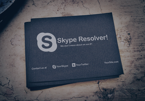 Skype resolver mockup by Link-Designs