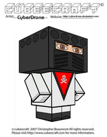 Cubeecraft - Baron Ironblood 'Action Force' by CyberDrone