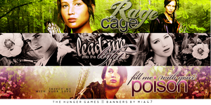 The Hunger Games banners by mia47