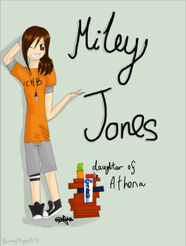 Miley Jones - ID by PernnyMuppet13
