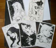 More backer board con sketches by MichaelDooney