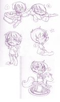Baby Ryan Sketches by Natsumi-chan0wolf