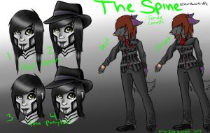 The Spine: SPG Female cosplay design. by EveeEverwolf