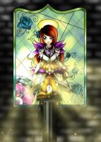 Stained glass hero by ElinKarlsson