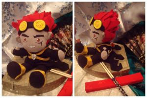 Jack Spicer the Plushie by VesteNotus