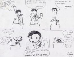 A.. Hitler comic. FOR SCHOOL. by darku
