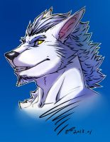 white wolf by fliegen80s