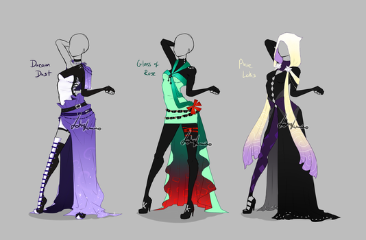 Outfit design - 279 - 281  - closed by LotusLumino