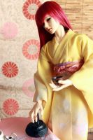 BJD kimono, Time for the Teacup by InarisansCrafts