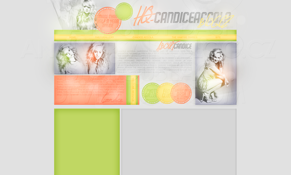 Layout: Candice Accola by iseayoubeach
