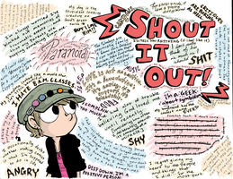 Shout It Out-Take Two by halfeatencandybars