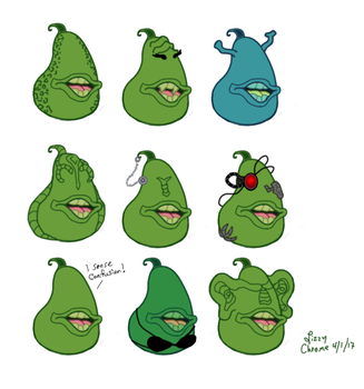 The United Federation of Laughing Pears by LizzyChrome