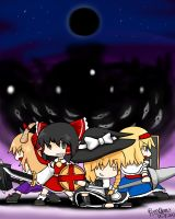 Gensokyo of the Black Moon by RayXDGreatX