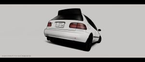 Honda civic eg6 by AeroDesign94