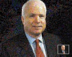 McCain Mosaic by drsparc