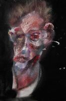 2013: Portrait of Egon Schiele by RyckRudd