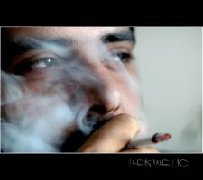 smoke broke my eyes by Hermetic-Wings