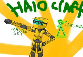 HALO CRAFT!! by echoblaze123