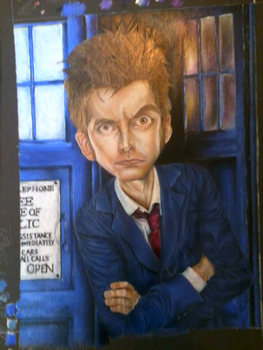 David Tennant by ImSpanky1324