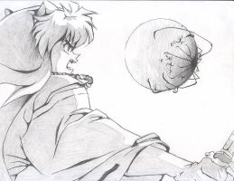 Inuyasha moon by kunpaow