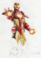Iron Man by DarthMelo