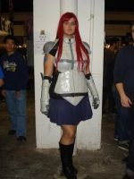 Erza new armor by claudia1542