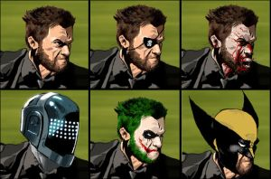 The Many Faces of Wolverine by RuKuS403