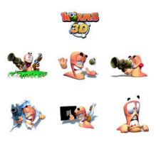 Worms 3D by hush66