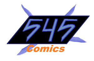 545 Comics Logo by CCI545