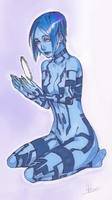 Cortana by Myrrie