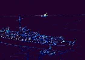 Schip by skupers