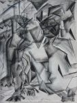 Cubist Figure Study Day 2 by Senshisoldier