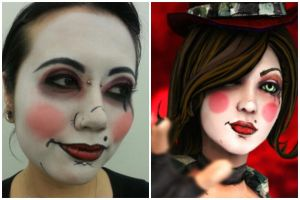 Mad Moxxi Character Makeup by samistoolegit