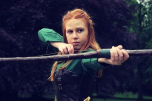 Tauriel- Bowstrings by NobleLunatic