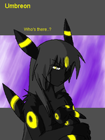 .Umbreon Anthro. by CosmicWings