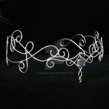 The Silver Vine Headpiece by camias