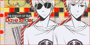 Dave Strider -Sign- by Passion-Colors