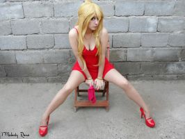 Panty ~ Panty and Stocking Cosplay 4 by MelodyxNya