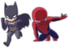 super chibis by Bizcuit