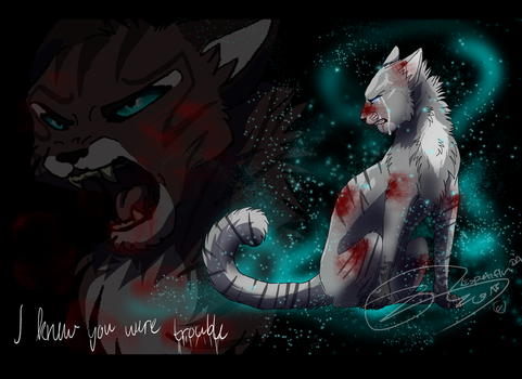 Ivypool - I knew you were trouble - SPEEDPAINT by Espenfluss