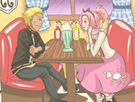 NaruSaku Decades: 50s by Kitsunena