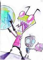 invader zim by misteve