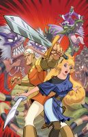Dragon's Lair Cover 1 by Tonywash