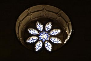 Stained glass window by Loves2dive