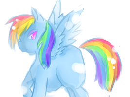 Rainbow Dash by queenofgrapes