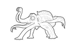 Tree Octopus WIP by WSnyder