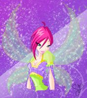 Tecna elegant fairy by fantazyme