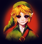 Zelda -- Ben Drowned by onisuu
