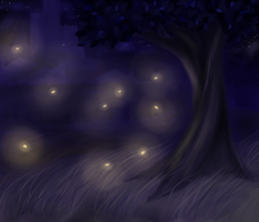 Fireflies by QueenAbibi