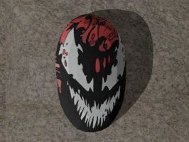 Papercraft Carnage Mask by Tektonten